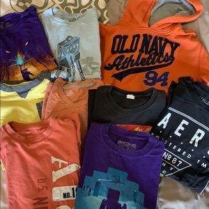 Box of boys shirts size 10-12/14